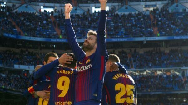 Espagne: Piqué prolonge au FC Barcelone jusqu'en 2022