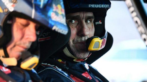 """Dakar: avec le """"camion balai"""" de Peugeot"""