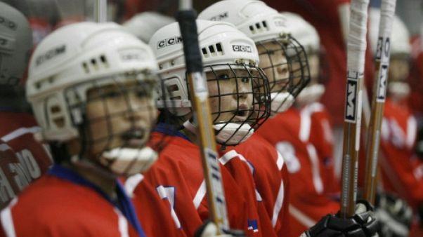 """JO: l'équipe de hockey coréenne unie, une """"bonne idée politique, mais des questions sur le plan sportif"""""""