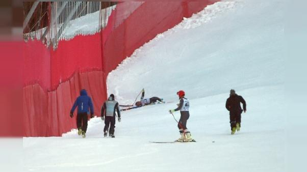 Ski: Giraud-Moine de retour à skis sur la Streif de Kitzbühel