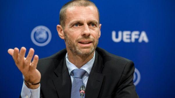 """UEFA: Ceferin annonce une """"taxe de luxe"""" sur les clubs"""
