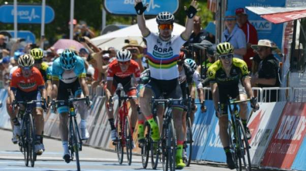 Cyclisme: Sagan vainqueur de la 4e étape du Tour Down Under
