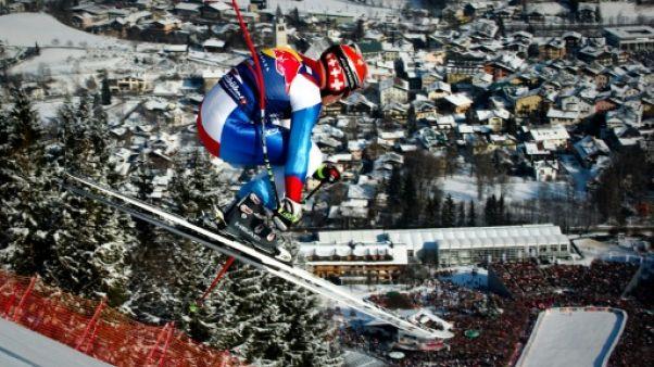 Descente de Kitzbühel: show et stress sur la Streif