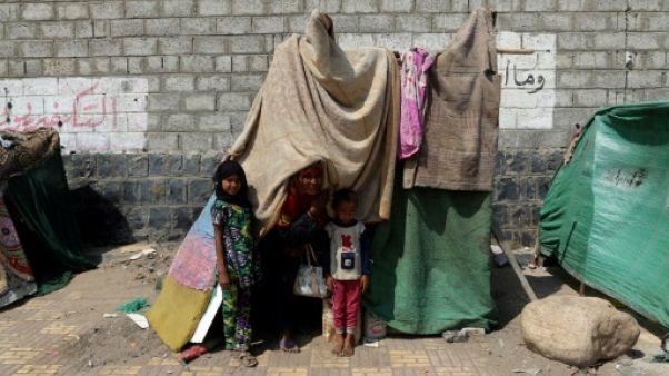 Plus de 32.000 Yéménites déplacés par les violences en deux mois