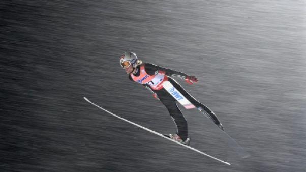 Vol à skis: Tande en tête du championnat du monde après deux sauts à Oberstdorf