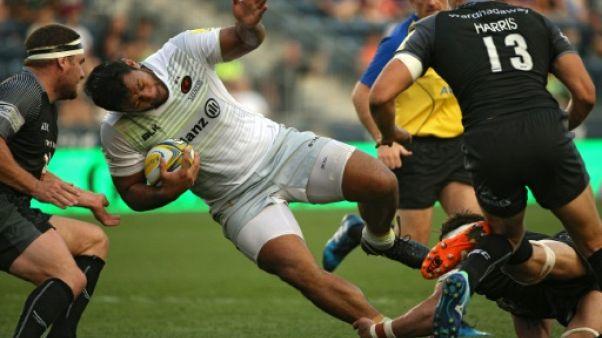 Rugby: 3 mois d'arrêt pour Billy Vunipola (Angleterre) forfait pour le Tournoi