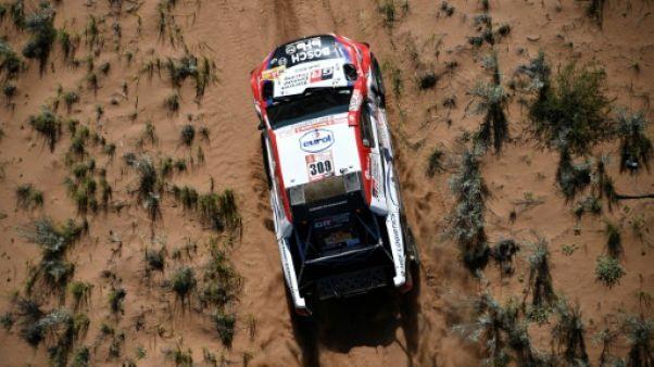 Dakar: abandon de Ten Brinke (Toyota), 4e du général lors de la 13e étape