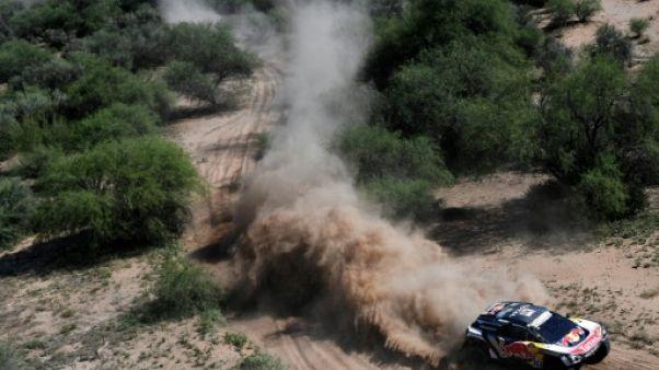 Dakar: Sainz sans souci, Peterhansel tombe du podium