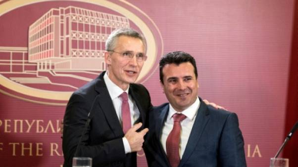 Différend avec la Grèce: les Macédoniens répugnent à changer de nom