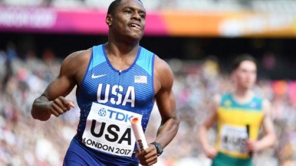 Athlétisme: record du monde du 60 m en salle pour Coleman