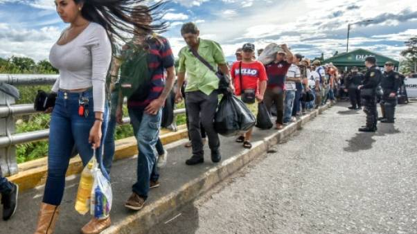 Venezuela: plus d'un demi-million de personnes ont fui en Colombie