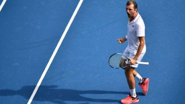 Open d'Australie: Julien Benneteau éliminé au 3e tour