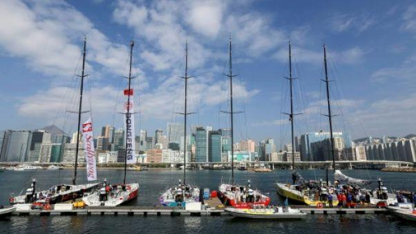 Volvo Ocean Race: la 4e étape endeuillée par la mort d'un pêcheur