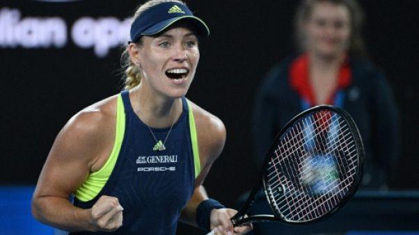 Open d'Australie: Kerber élimine Sharapova au 3e tour