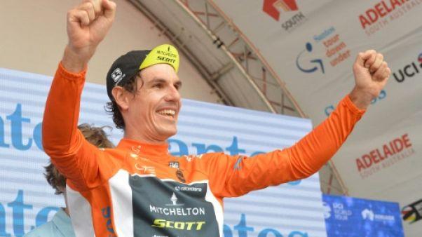 Cyclisme: Porte remporte l'étape-reine du Tour Down Under