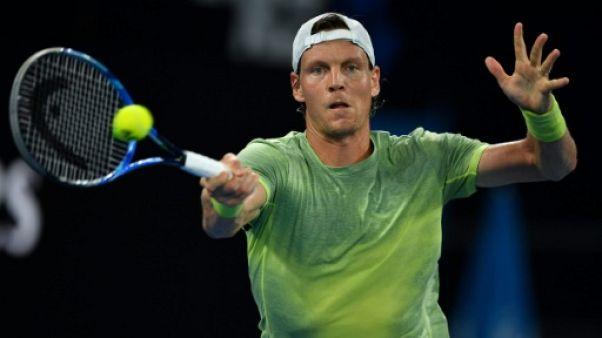 Open d'Australie: Berdych pour la dixième fois en deuxième semaine