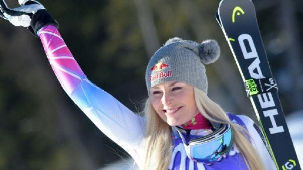 Ski: la revanche de Lindsey Vonn lors de la seconde descente de Cortina