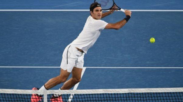 Open d'Australie: Federer domine de nouveau Gasquet