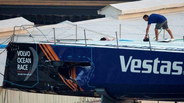 """Décès sur la Volvo Ocean Race: il fallait """"slalomer"""" entre les bateaux de pêche, a dit Cammas"""