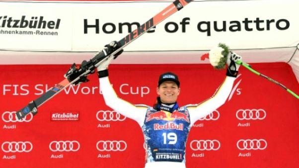 Ski: le ciel s'est ouvert pour Dressen à Kitzbühel, Roger 7e
