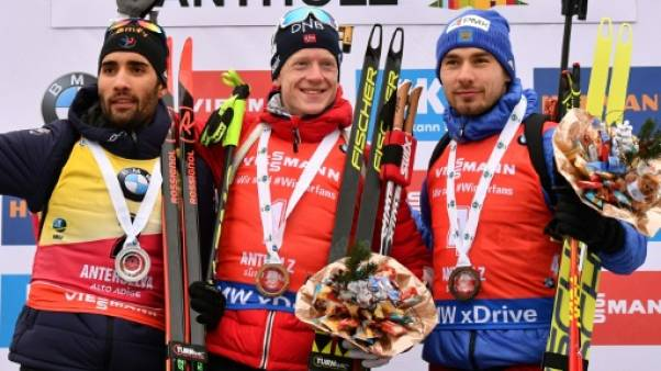 Biathlon: Johannes Boe trop fort pour Martin Fourcade à Anterselva