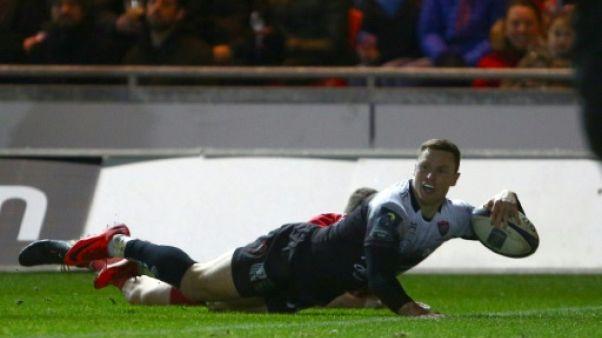 Coupe d'Europe: Toulon en quarts de finale malgré sa défaite sur le terrain des Scarlets (27-30)