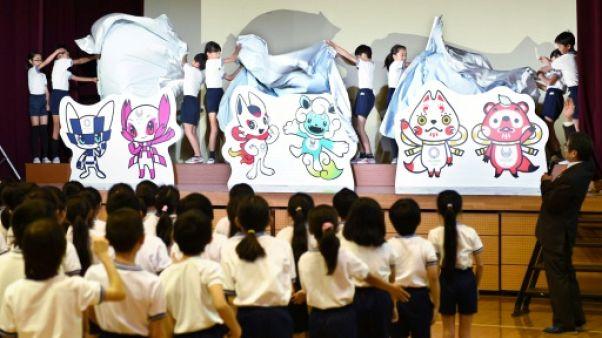 JO-2020: les mascottes olympiques, un enjeu national au Japon