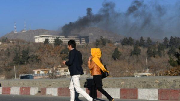 """""""Priez pour moi"""": à Kaboul, le désespoir des clients de l'hôtel"""