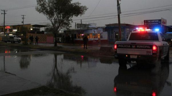Mexique: 25.339 homicides en 2017, record en 20 ans
