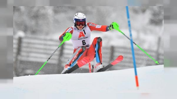 Ski: Kristoffersen en tête après la 1re manche du slalom à Kitzbühel