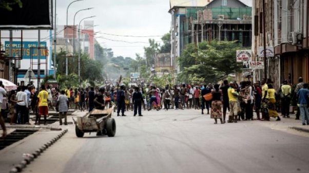 Marches interdites en RDC: au moins cinq morts et 33 blessés