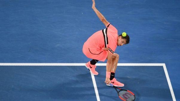 Open d'Australie: Dimitrov survit à 36 aces de Kyrgios