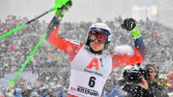 Ski: Kristoffersen remporte le slalom de Kitzbühel, fin de série pour Hirscher, 2e