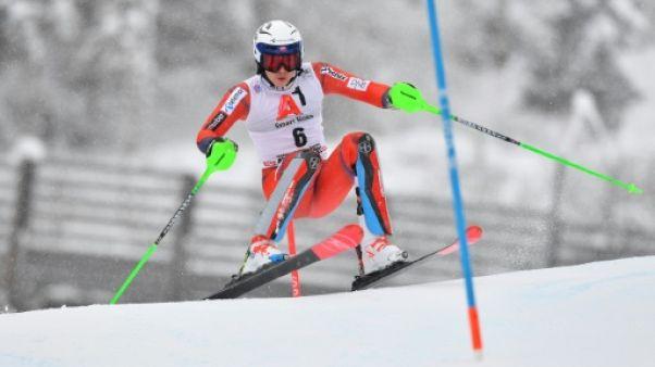 Ski: Kristoffersen tient sa revanche, Muffat-Jeandet 4e du slalom de Kitzbühel