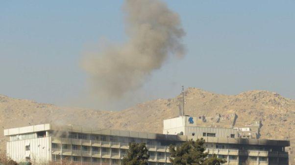 Kaboul: 22 morts, certains inidentifiables, dans l'hôtel attaqué