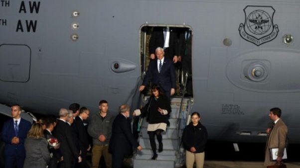 """Netanyahu reçoit Pence avec les honneurs dûs à un """"ami"""" d'Israël"""