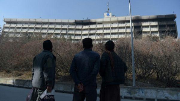 Attentat de Kaboul: le commando visait les étrangers dans l'hôtel