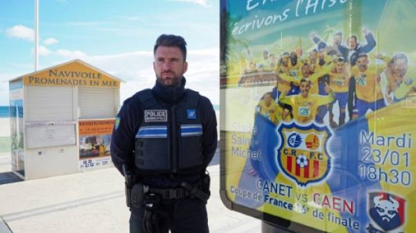 Coupe de France: Maxime Ferry monte la garde à Canet-en-Roussillon