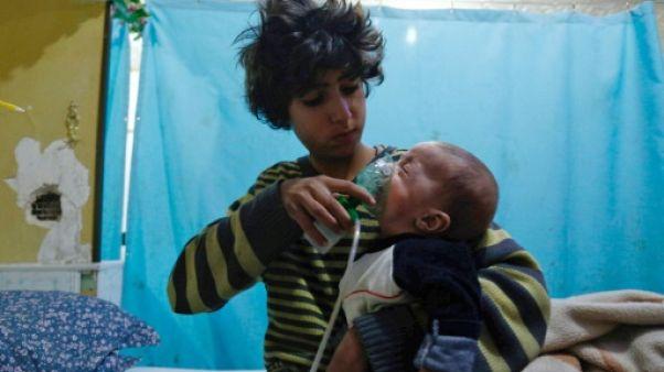 Syrie: le régime accusé d'une nouvelle attaque chimique près de Damas