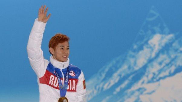 Dopage: la légende du short-track Viktor Ahn menacé d'exclusion de Pyeongchang