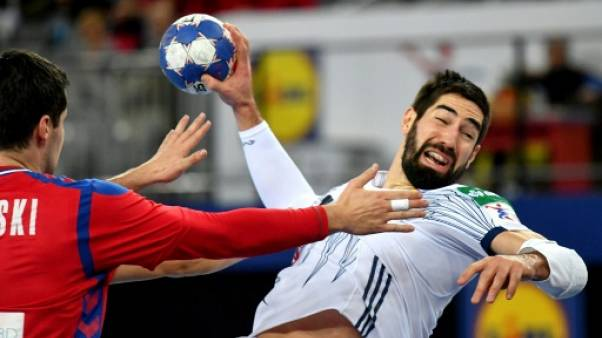 Hand: la France presque en demi-finale de l'Euro