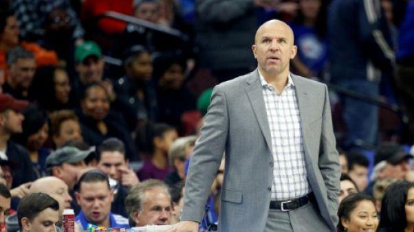 NBA: Milwaukee se sépare de son entraîneur Jason Kidd