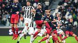 Soccer Football - Serie A - Juventus vs Genoa - Allianz Stadium, Turin, Italy - January 22, 2018   Juventus' Sami Khedira in action with Genoa's Aleandro Rosi          REUTERS/Massimo Pinca
