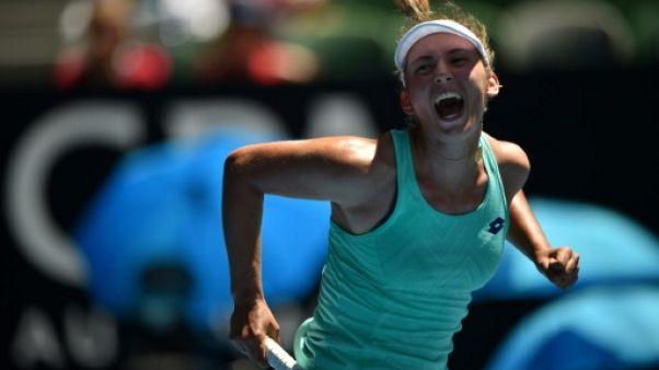 Open d'Australie: la Belge Elise Mertens en demies dès sa première participation