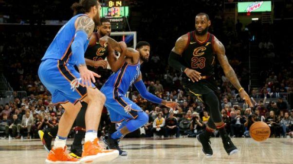 NBA: un cap pour LeBron James, un précipice pour Cleveland?