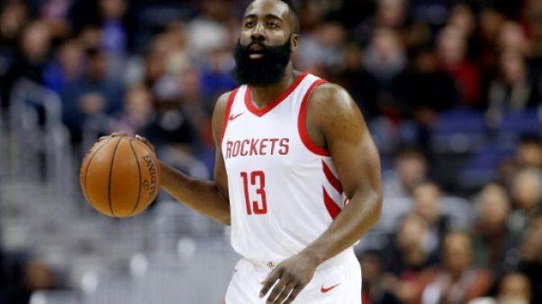 NBA: les Houston Rockets poursuivent sur leur trajectoire