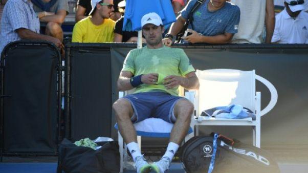 Open d'Australie: Mischa Zverev, premier sanctionné pour manque de combativité