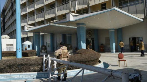 Kaboul: des failles criantes dans la sécurité de l'hôtel visé par un attentat