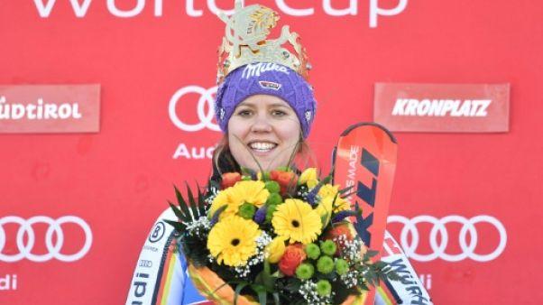 Ski: l'Allemande Rebensburg remporte le slalom géant de Kronplatz