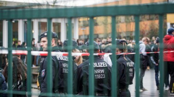 Allemagne: un adolescent de 14 ans tué dans un collège